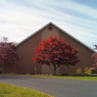 Circleville Church of Christ Main Building.